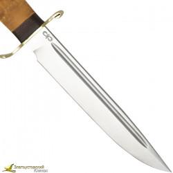 Нож Финка-2 Вача Рукоять карельская береза, сталь Elmax