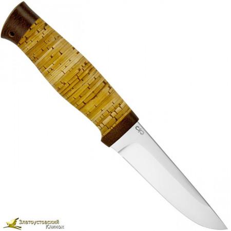 """Нож """"Ганза""""Рукоять наборная береста"""