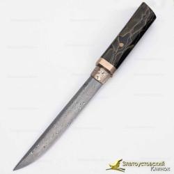 Нож Айкути. Рукоять - Raffir. Сталь - ZDI-1016