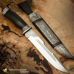Нож Арсенальный люкс. Рукоять - граб. Сталь - ЭИ-107