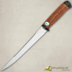Нож Белуга. Рукоять - орех, текстолит
