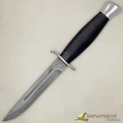 Нож Финка-2. Рукоять - граб. Сталь ZDI-1016. Ножны комбинированные