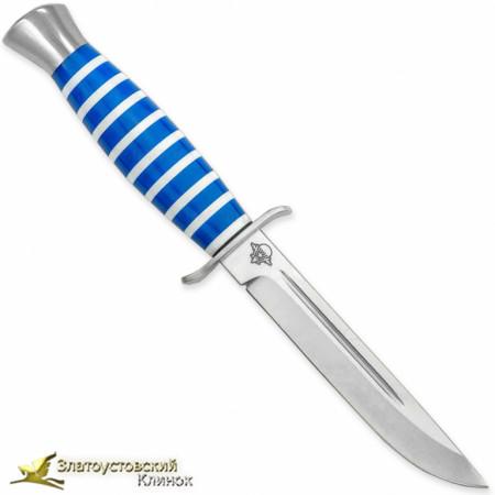 Нож Финка-2 ВДВ. Рукоять - оргстекло