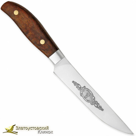 Нож Овощной ЦМ. Рукоять - орех