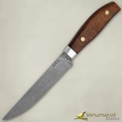 Нож Овощной ЦМ. Рукоять - орех. Сталь ZDI-1016