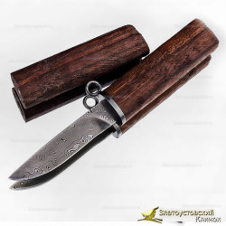 Нож Палка. Рукоять - орех. Сталь ZDI-1016