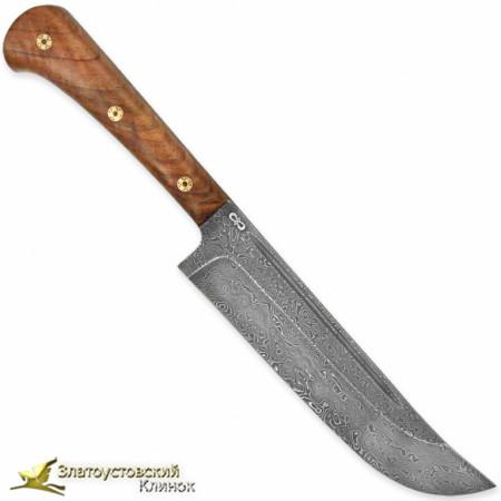 Нож Пчак ЦМ. Рукоять - орех. Сталь - ZDI-1016
