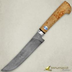 Нож Пчак. Рукоять - карельская берёза. Сталь - ZDI-1016
