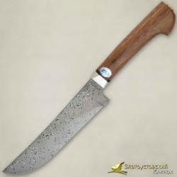 Нож Пчак. Рукоять - орех. Сталь ZD-0803