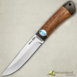 Нож Шашлычный малый. Рукоять - орех, текстолит