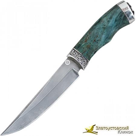 Нож подарочный из литого булата R008L-V1