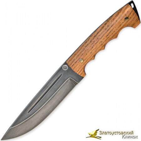 Нож из литого булата R010 - магнолия