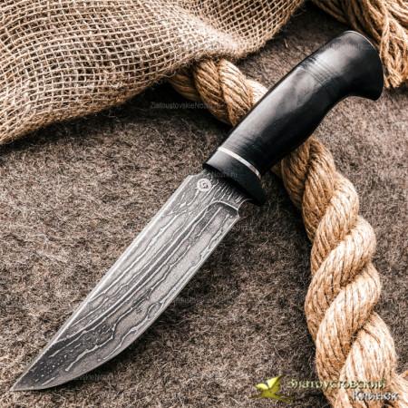 Нож из литого булата T003-V2. Наборная рукоять