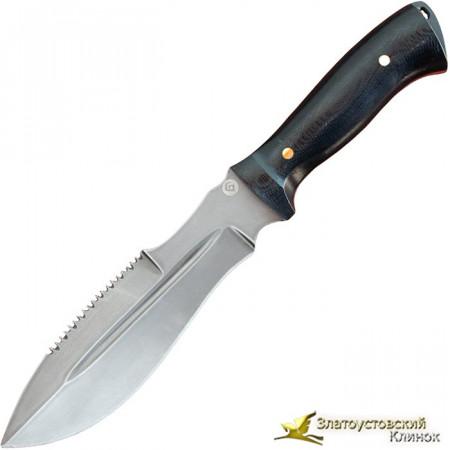 Нож из литого булата V001M - микарта