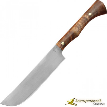 Нож из литого булата K004 Пчак - орех