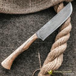 Нож из литого булата K004 Пчак ЦМ. Рукоять - ясень
