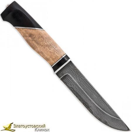 Нож из литого булата Степчак большой - рукоять комбинированная
