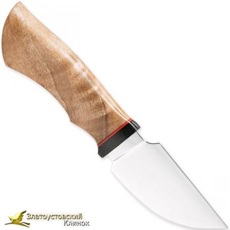 Нож НШС-1. Рукоять - орех, микарта