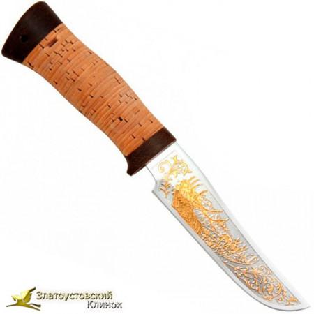 Нож Гелиос-2. Рукоять береста