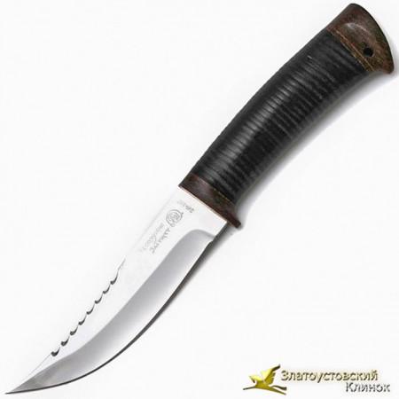 Нож Горный. Рукоять кожа