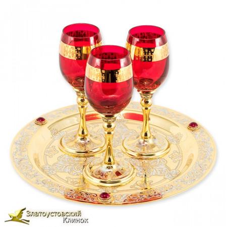 Набор винный на три персоны