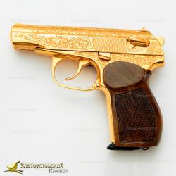 Пистолет Макарова украшенный (Охолощённый)