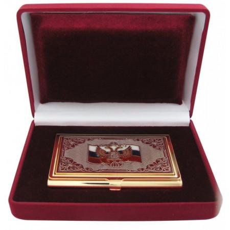 Визитница с орлом в подарочной упаковке