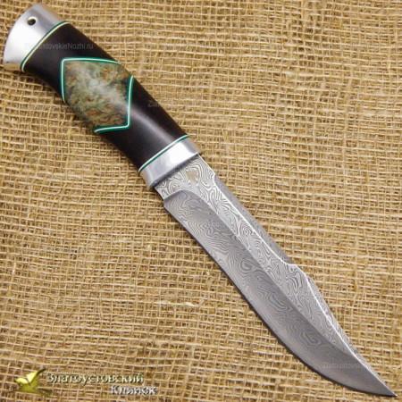 Нож Акела. Рукоять люкс. Сталь ZDI-1016