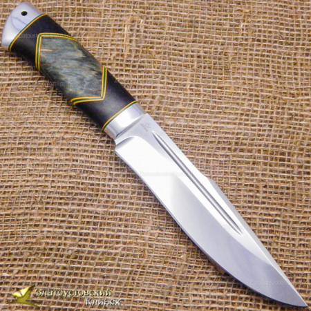 Нож Хищник. Рукоять - люкс