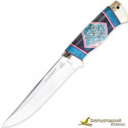 Нож Куница. Рукоять - люкс, латунь