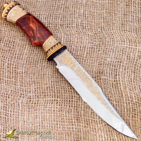 Нож украшенный - модель 2Н