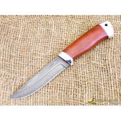 Нож Куница-2. Рукоять - бук, алюминий. Сталь ZDI-1016