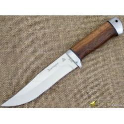 Нож Таёжный-1. Рукоять - орех, алюминий