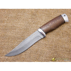 Нож Таёжный-1. Рукоять - орех, алюминий. Сталь ZDI-1016