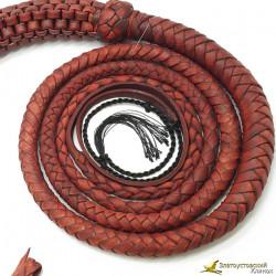 Кнут Ковбой 3м - красного цвета