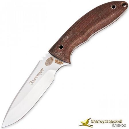 Нож БН-18 v.2. Сталь 440В. Рукоять - накладки из текстолита