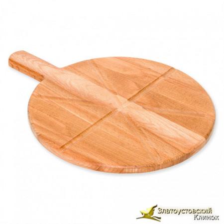 Доска для подачи пиццы из дерева бук