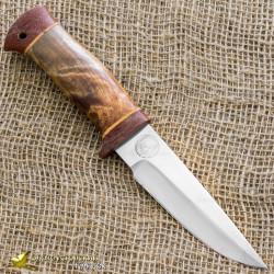 Нож НС-63. Рукоять - орех, текстолит