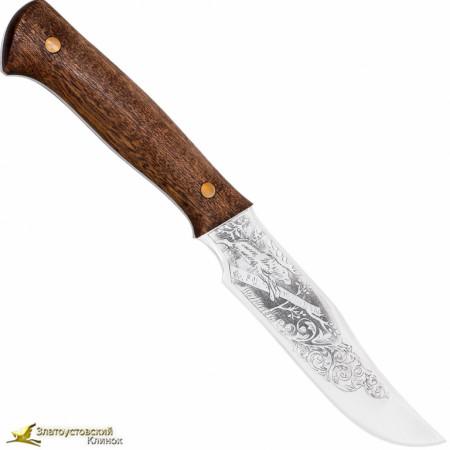 """Нож """"Багира-2"""". Рукоять накладная текстолит"""