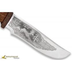 Нож Бивень. Рукоять сапеле, текстолит