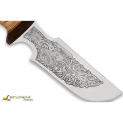 Нож Гарпун. Рукоять береста,текстолит