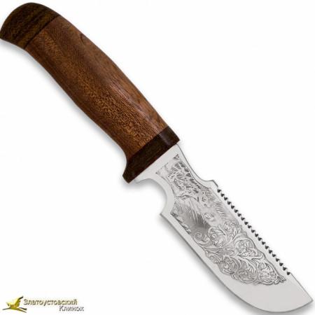 Нож Гарпун. Рукоять сапеле,текстолит