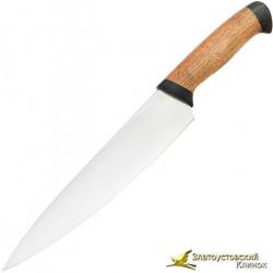 Кухонный нож Империя-1. Рукоять орех, текстолит