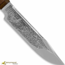 Нож Пилигрим-1. Рукоять сапеле, текстолит