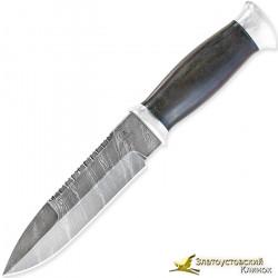 Нож Н82 - Сталь У10А-7ХНМ. Рукоять граб, алюминий