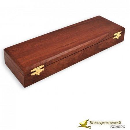 Коробка подарочная из натурального шпона ценных пород дерева. Вариант№3